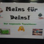"""Tauschbasar """"Meins für Deins"""", 28.1.19"""
