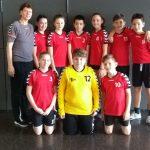 Handball Finalturnier Mini HB SC mit VereinsspielerInnen